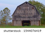 Old Mail Pouch Barns In Indiana