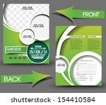 golf tournament front   back... | Shutterstock .eps vector #154410584