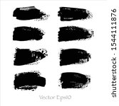 vector brush stroke set... | Shutterstock .eps vector #1544111876