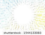 light blue  yellow vector...   Shutterstock .eps vector #1544133083