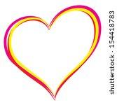 heart picture | Shutterstock .eps vector #154418783