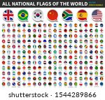 all national flags of the world ... | Shutterstock .eps vector #1544289866