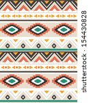 seamless ethnic vector pattern... | Shutterstock .eps vector #154430828