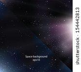 two modern design space... | Shutterstock .eps vector #154442813