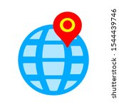 map pointer  map pin  map icon  ...   Shutterstock .eps vector #1544439746