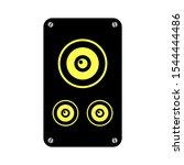 stereo speakers icon. logo... | Shutterstock .eps vector #1544444486