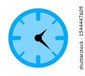 clock icon   vector clock... | Shutterstock .eps vector #1544447609