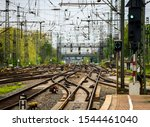 Railway Tracks With Switches ...