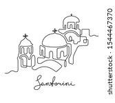 Santorini  Greece. Continuous...