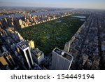 central park aerial view ... | Shutterstock . vector #154449194