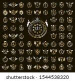 heraldic coat of arms vector...   Shutterstock .eps vector #1544538320