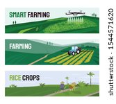 Set Of Vectors With Agricultur...