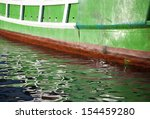 abstract of old wooden fishing... | Shutterstock . vector #154459280