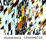 abstract colored pattern.... | Shutterstock . vector #1544598710