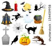 easy to edit vector... | Shutterstock .eps vector #154459958