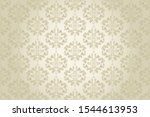 seamless floral ornament on...   Shutterstock .eps vector #1544613953