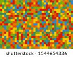 abstract colorful pixel...