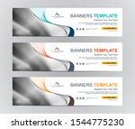 abstract web banner design...   Shutterstock .eps vector #1544775230