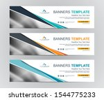 abstract web banner design... | Shutterstock .eps vector #1544775233