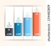 modern business infographics... | Shutterstock .eps vector #154482809