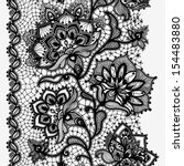 Abstract Lace Ribbon Vertical...