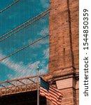 Brooklyn Bridge Detail With...