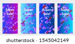 abstract stories templates with ... | Shutterstock .eps vector #1545042149