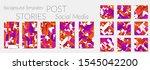 creative backgrounds for social ... | Shutterstock .eps vector #1545042200