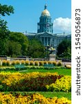 Small photo of Colorado State Capitol Building in Denver,CO,United States.