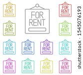 for rent  nameplate multi color ...