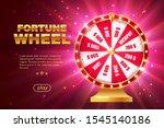 fortune wheel 3d vector design...   Shutterstock .eps vector #1545140186