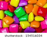 background of colored gum square | Shutterstock . vector #154516034