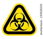 biohazard sign | Shutterstock . vector #154520210