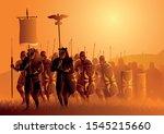 vector illustration of ancient...   Shutterstock .eps vector #1545215660
