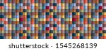 geometric abstract colorful...   Shutterstock . vector #1545268139