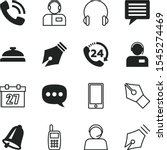 call vector icon set such as ... | Shutterstock .eps vector #1545274469