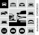 Stock vector cars icons 154528313