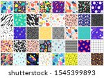 abstract colorful patterns.... | Shutterstock .eps vector #1545399893