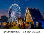 winter wonderland in riyadh... | Shutterstock . vector #1545430136