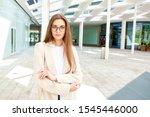 portrait shot of beautiful... | Shutterstock . vector #1545446000