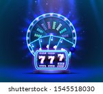 casino neon colorful fortune... | Shutterstock .eps vector #1545518030