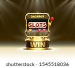 golden slots 777 banner casino... | Shutterstock .eps vector #1545518036