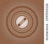 candy icon inside wood emblem....