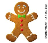 Gingerbread Man Decorated...