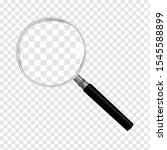 magnifying glass isolated on... | Shutterstock .eps vector #1545588899