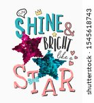 typography slogan with cute... | Shutterstock .eps vector #1545618743