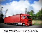 truck on the road | Shutterstock . vector #154566686