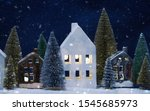 merry christmas and happy new...   Shutterstock . vector #1545685973