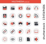 icons set about multimedia....