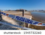 Small photo of Police precinct on the beach